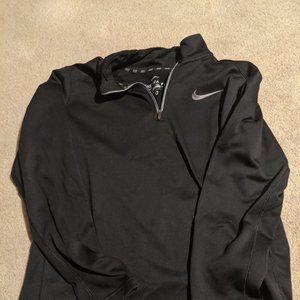 NIke Therma-Fit 1/4-zip pull-over sweatshirt